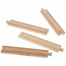 Набор прямых элементов для деревянной ж/д Eichhorn