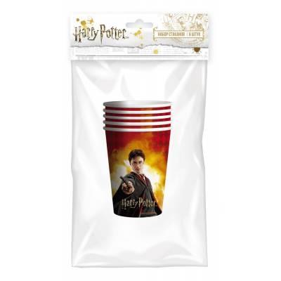 Harry Potter. Набор бумажных стаканов, 6 шт*250 мл НД плэй / ND PLAY