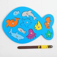 Магнитная рыбалка «Рыбка» Smile Decor