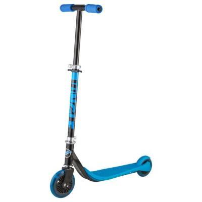 Городской самокат Jungle (светятся колеса), синий Novatrack
