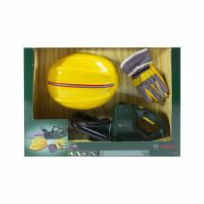 Игровой набор Bosch цепная пила, каска и перчатки Klein