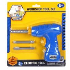 Электрическая дрель с насадками Наша игрушка