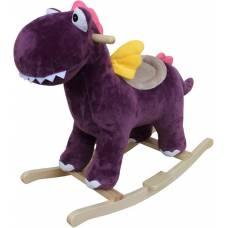 Динозаврик-качалка 74 см, звук Наша игрушка