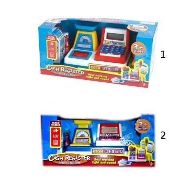 Детская касса Cash Register с LCD-дисплеем (свет, звук) Shantou