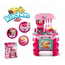 Игровой набор Kitchen Cook - Little Chef с аксессуарами (свет, звук)
