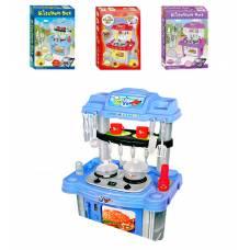 Игровая кухня Kitchen Set с плитой и микроволновкой (свет, звук) Shantou