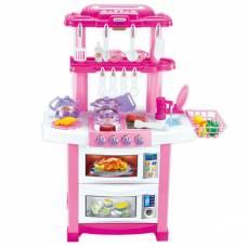 Детская кухня Happy Little Chef (свет, звук), 33 предмета