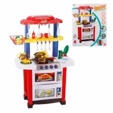 Кухня как у мамы, в наборе 33 предм., свет, звук, можно играть с водой Yako Toys