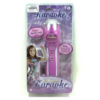 Детский микрофон Princess Karaoke (звук) Yako Toys