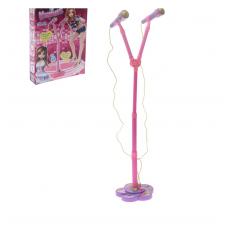 Детский микрофон на стойке