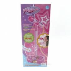 Детский микрофон на стойке Musicale, розовый Shantou