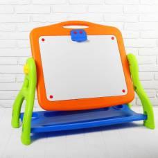 Доска для рисования , на подставке, в комплекте маркер, набор букв и цифр, губка, рабочая поверхность: 48 × 38 см Sima-Land