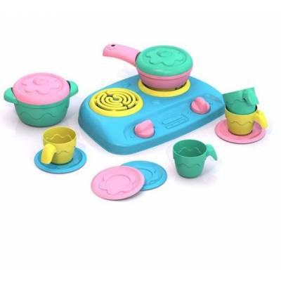 Набор игрушечной посуды с плитой, 13 предметов Шкода