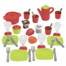 Набор посуды Chef с продуктами, 36 предметов Ecoiffier