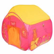 Игровая палатка «Деревенский домик», цвет жёлто-красный Sima-Land