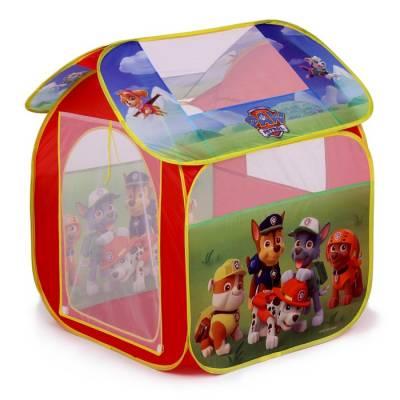 Детская игровая палатка «Щенячий патруль» в сумке Играем Вместе