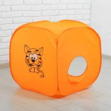 Палатка детская «Домик. Весёлый тигрёнок», 60 × 60 × 60 см Sima-Land