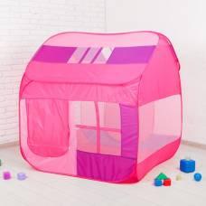 Палатка детская «Домик с окном», розовый, 140 × 125 × 125 см Sima-Land