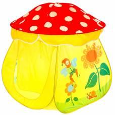 Игровая палатка «Сказочный домик», цвет красно-жёлтый Sima-Land