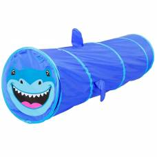 Детский туннель «Акула», цвет синий Sima-Land