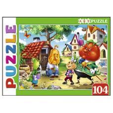 Artpuzzle. Пазлы 104 элемента. СКАЗКА № 91 Рыжий кот