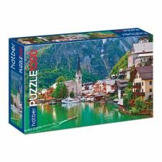 Пазл 1000 элементов «Сказка в Альпах» Hatber