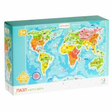 Пазл «Карта мира» Vladi Toys