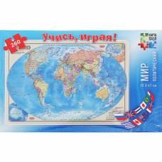Карта-пазл «Мир политический», 260 элементов Геодом