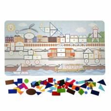 Коврик-мозаика «Большой город» Smile Decor