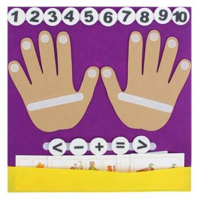 Коврик-считалка Пальчики Smile Decor