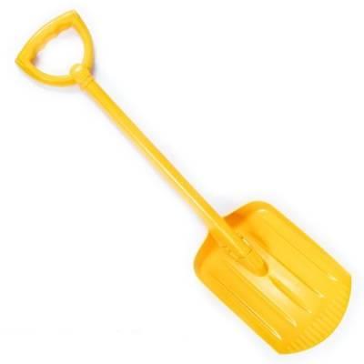 Детская лопата, желтая, 70 см Нордпласт