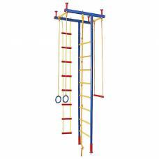 Детский спорткомплекс распорный, высота 2,35 - 2,80 м Леко