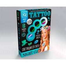 Набор для создания временных татуировок Night Сlub (светящиеся) Каррас