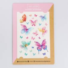 Наклейки‒переводки Butterfly, 14 × 21 см Арт Узор