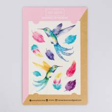 Наклейки‒переводки Colibri, 14 × 21 см Арт Узор