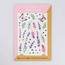 Наклейки‒тату Lavender dreams, 14 × 21 см Арт Узор