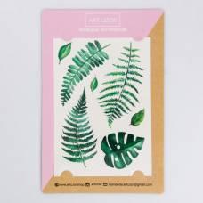 Наклейки‒переводки Green, 14 × 21 см Арт Узор