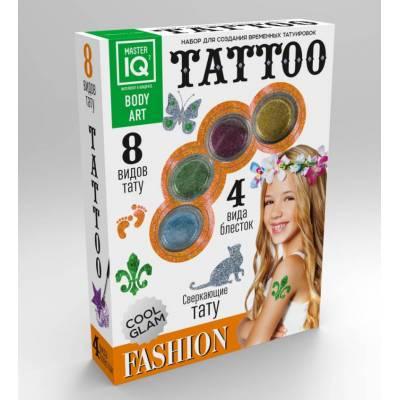 Набор для создания временных татуировок Fashion, 8 видов тату Каррас