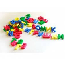 Набор букв русского алфавита, 63 шт. Бомик