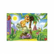 Пазл в рамке Cartoon Collection - Веселые динозавры, 26 элементов Hatber