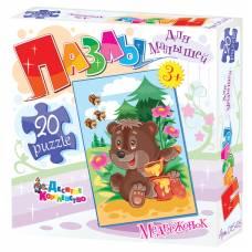 Картонный пазл для малышей
