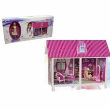 Игровой набор Infanta Villa - Домик с куклой и мебелью, 2 комнаты Shantou