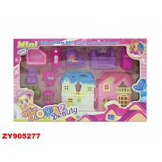 Домик для кукол House Beauty с мебелью Shantou