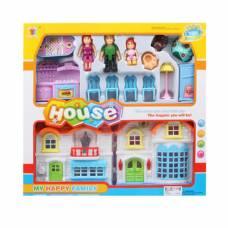 Дом для кукол с набором мебели и аксессуарами