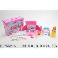 Домик для кукол Princess с мебелью и куклой Shantou