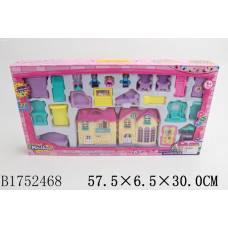 Домик для кукол Mini House с мебелью Shantou