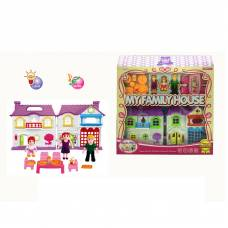 Домик для кукол My Family House с мебелью (свет, звук) Shantou