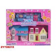 Домик для кукол My Sweet Home с мебелью Shantou