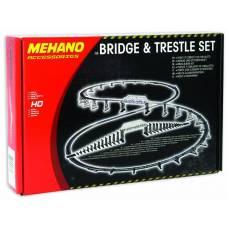Железнодорожный мост с опорами, 1:87 Mehano