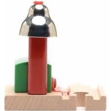 Сигнальный колокольчик на магнитах для деревянной ж/д, 10.8 см Brio